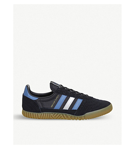ADIDAS Indoor Super suede trainers (Core+black+trace