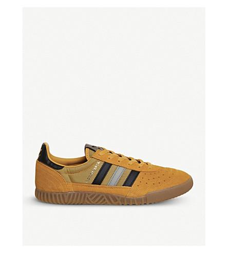 ADIDAS Indoor Super suede trainers (Tactile+yellow