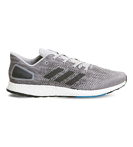 ADIDAS Pureboost DPR mesh trainers (Grey+five+white