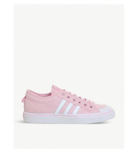 ADIDAS Nizza canvas low-top trainers (Wonder+pink+f
