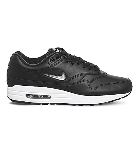 NIKE Air max 1 jewel (Black+silver