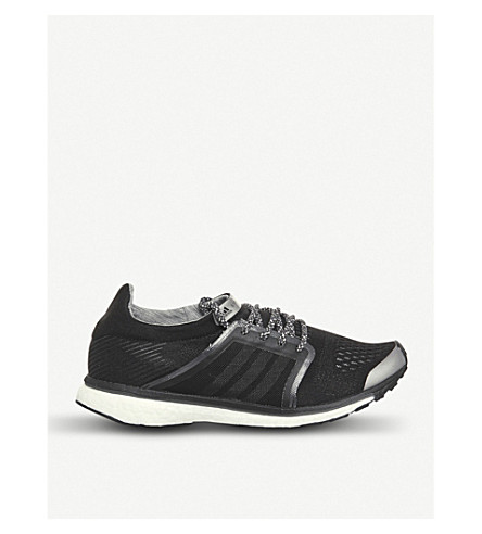 ADIDAS Adizero adios mesh trainers (Black+night+grey