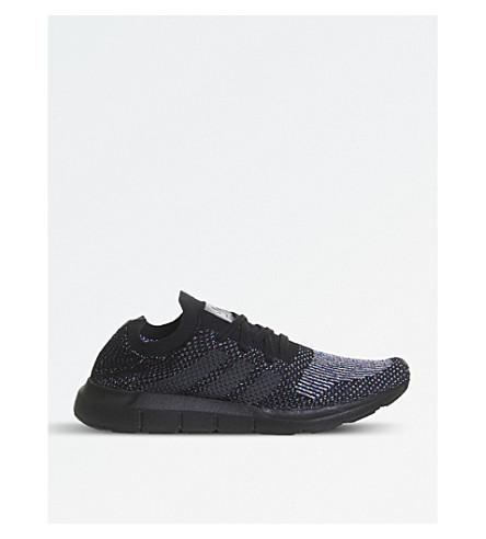 ADIDAS Swift Run knitted trainers (Utility+black+pk