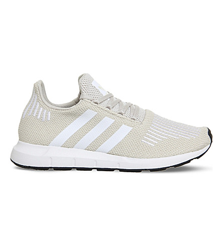 ADIDAS Swift Run knitted trainers (Clear+brown+white