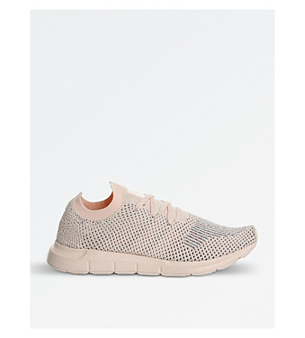 ADIDAS Swift Run knitted trainers (Icey+pink+mono+pk