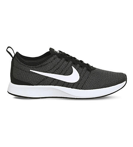 NIKE Dualtone 赛车网运动鞋 (黑/白