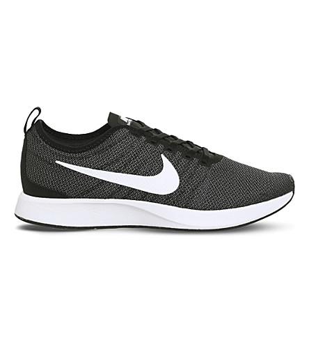 NIKE Dualtone 赛车网运动鞋 (黑 + 白 + m