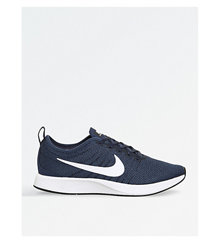 NIKE Dualtone Racer mesh trainers (Midnight+navy