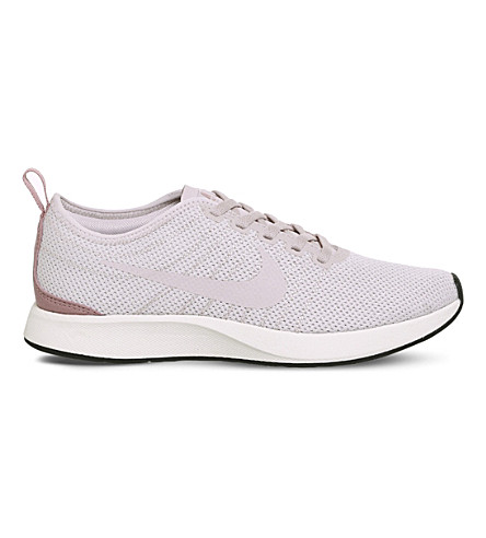 NIKE Dualtone Racer mesh trainers (Silt+red+stardust