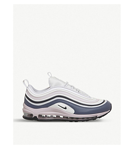 AIR MAX 97 VELVET AND SUEDE SNEAKERS