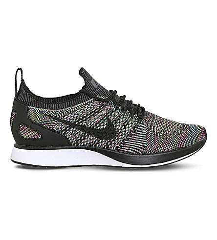 NIKE Air Zoom Mariah Flyknit Racer Trainers (Multi