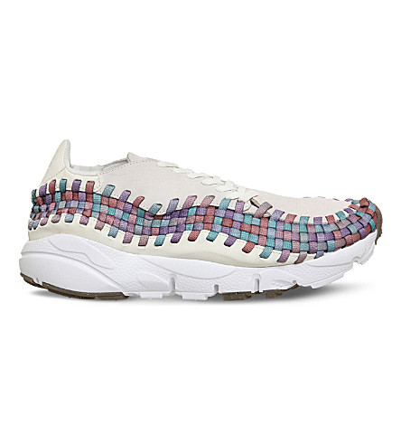 NIKE Air footscape woven (Sail+white+multi+gum