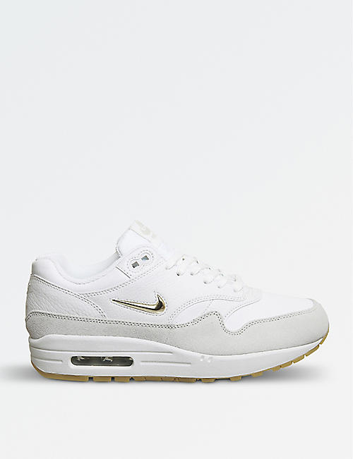 NIKE Air Max Jewell leather trainers