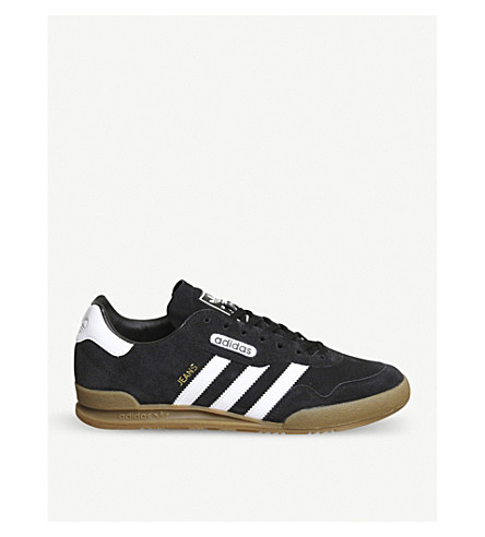 ADIDAS Superstar Jeans suede trainers (Black+white