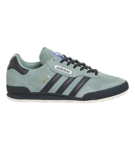 ADIDAS Jeans Super suede trainers (Vapour+grey+navy