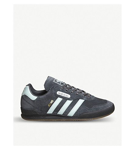 ADIDAS Jeans Super suede trainers (Carbon+tactile+green