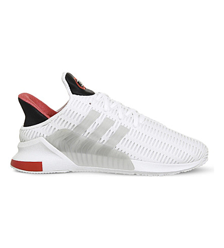 ADIDAS Climacool 02/17 mesh trainers (White+grey