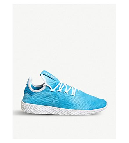 ADIDAS PW Tennis Hu mesh trainers (Bright+blue+white