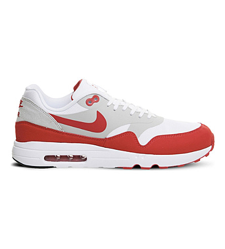 NIKE Air max 1 ultra 2.0 mesh trainers (Red+white+og+le