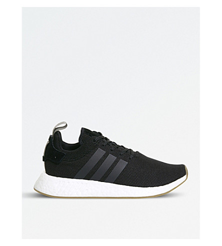 ADIDAS NMD R2 Primeknit trainers (Black+trace+cargo