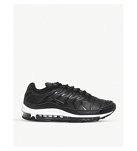 NIKE Air max 97 plus (Black+white