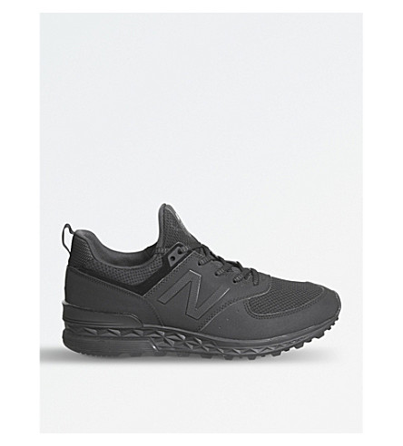 NEW BALANCE 574 Sport mesh trainers (Black tech