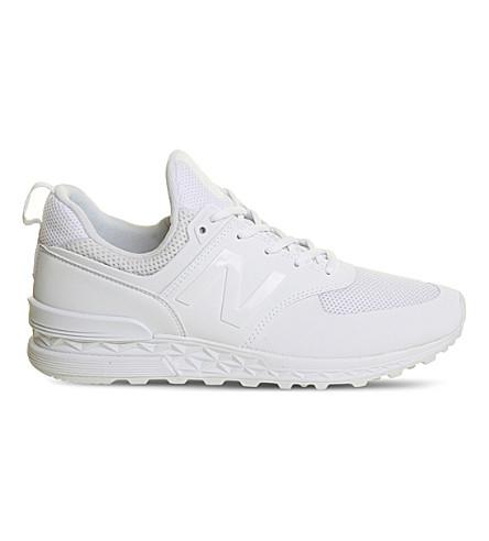 NEW BALANCE 574S mesh trainers (White