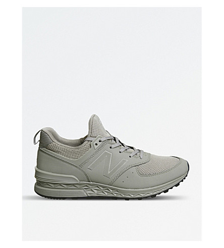 NEW BALANCE 574 Sport mesh trainers (Clay+tech