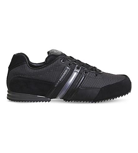 ADIDAS Y3 Sprint low-top trainers (Black+orange