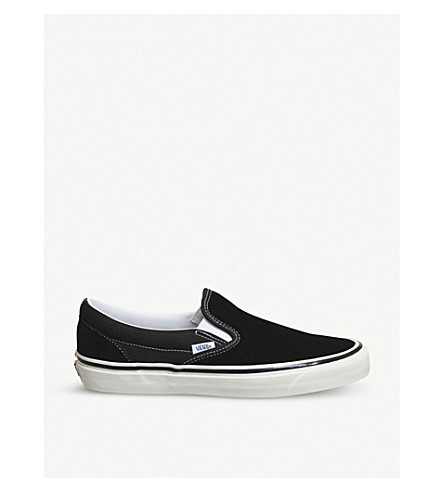 Classic 98 DX slip-on canvas sneakers