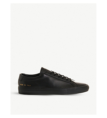 COMMON PROJECTS Achilles low-top trainers (Black