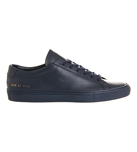 COMMON PROJECTS Achilles low-top trainers (Navy