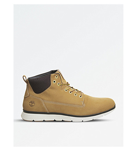 TIMBERLAND Killington Chukka leather boots (Wheat+nubuck