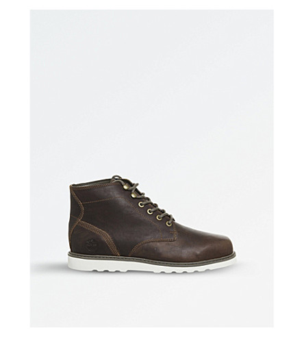 TIMBERLAND Newmarket Chukka leather boots (Rawhide+tbl+forty