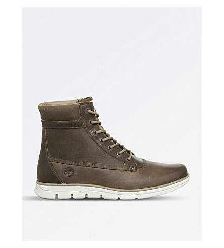 TIMBERLAND Bradstreet leather boots (Oakwood+poseidon