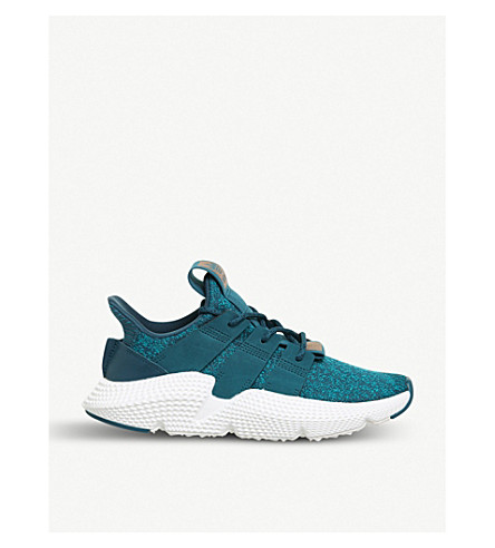 ADIDAS Prophere knitted trainers (Real+teal