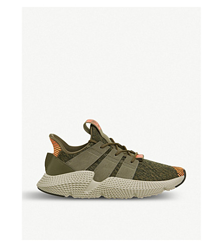 ADIDAS Prophere knitted trainers (Trace+olive+olive