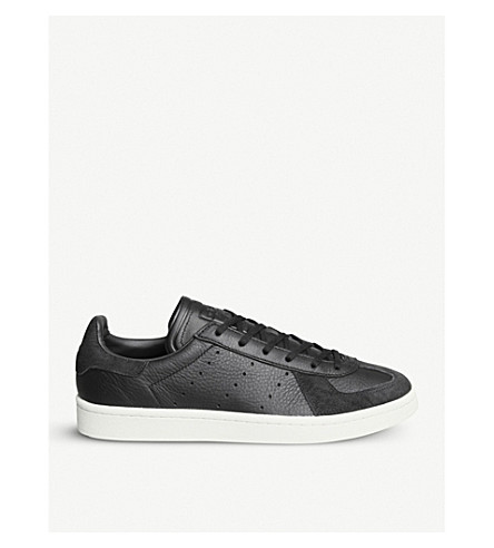 ADIDAS BW Avenue leather and suede trainers (Core+black