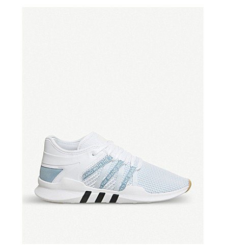 ADIDAS Eqt Racing Advance Primeknit trainers (White ash blue white
