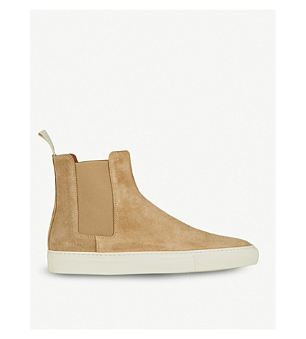 COMMON PROJECTS Chelsea trek suede boots (Tan