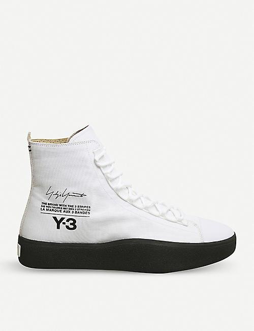 21eb82f25 ... adidas y3 y 3 bashyo suede high top sneakers