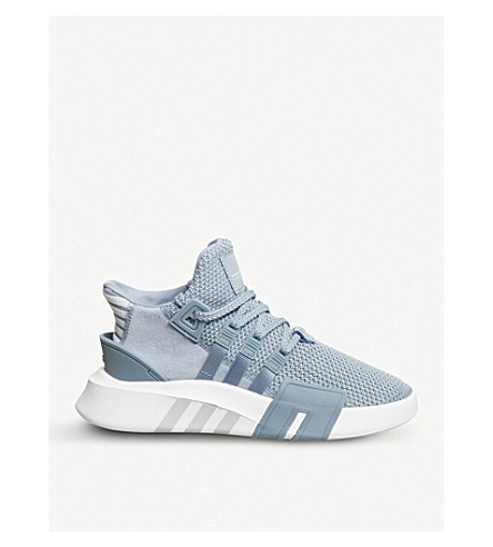 ADIDAS EQT Bask Adv synthetic trainers (Ash+blue+white+f