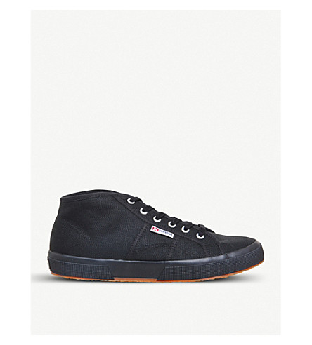 SUPERGA 2754 mid-top canvas trainers
