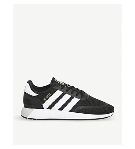 ADIDAS Iniki runner mesh trainers (Core+black