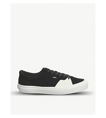 VANS Style 205 suede trainers (Black+true+white