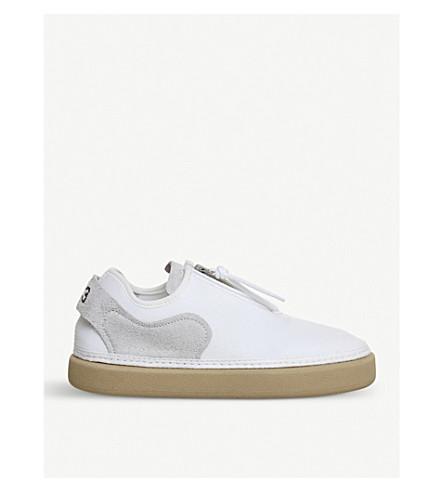 ADIDAS Y3 Y3 Comfort Zip F trainers (White+gum