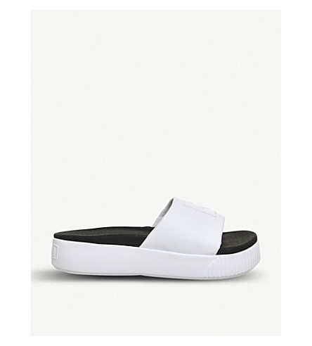 PUMA Platform sliders (Puma+white