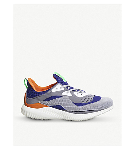 ADIDAS Alphabounce primeknit trainer (Purple+orange+kolor