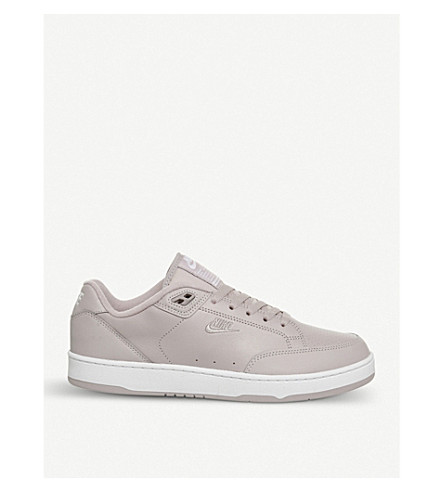 NIKE Grandstand 2 leather trainers (Particle+rose+white