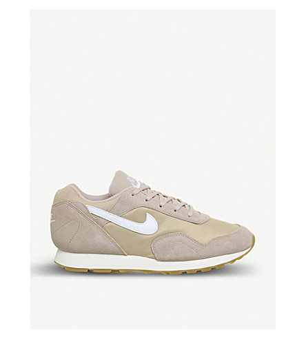 NIKE Outburst OG suede trainers (Particle+beige+white